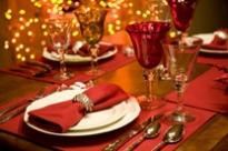 Apparecchiare per le feste Natale 2010